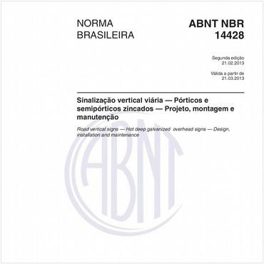 NBR14428 de 02/2013