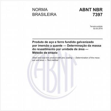 NBR7397 de 05/2016
