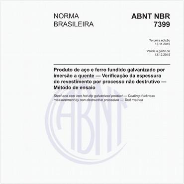 NBR7399 de 11/2015
