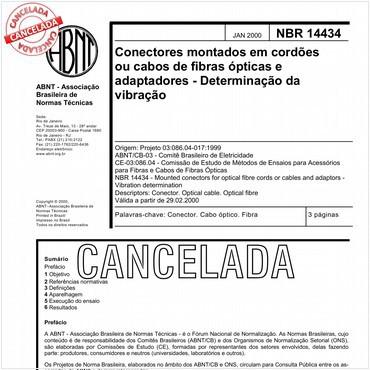 NBR14434 de 01/2000