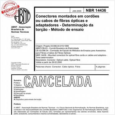 NBR14436 de 01/2000