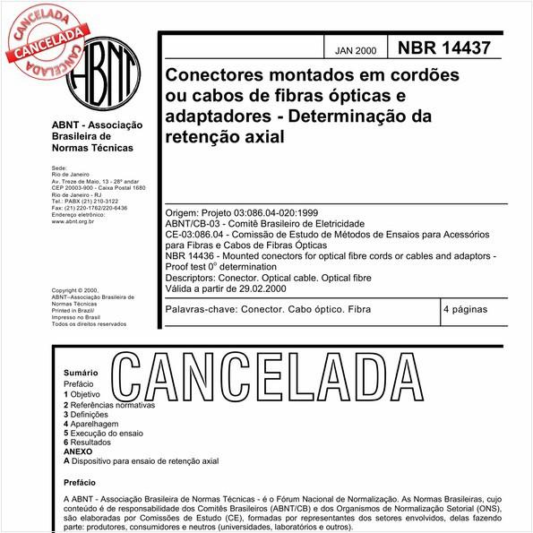NBR14437 de 09/2010