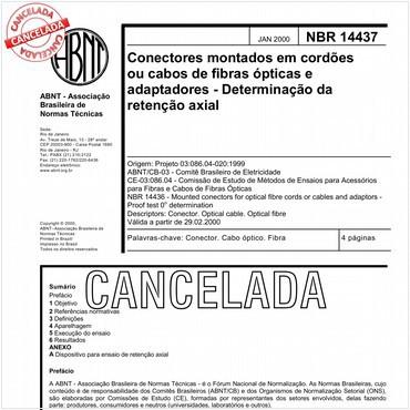 NBR14437 de 01/2000
