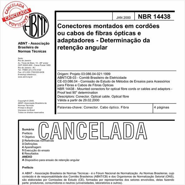 NBR14438 de 09/2010