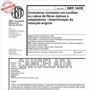 NBR14438 de 01/2000