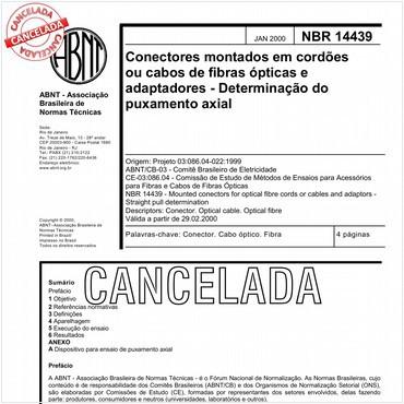 NBR14439 de 01/2000