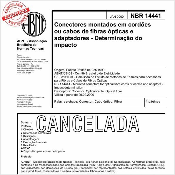 NBR14441 de 09/2010