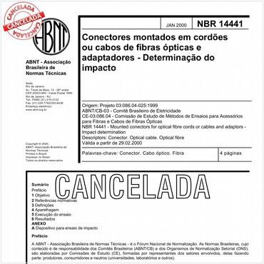 NBR14441 de 01/2000