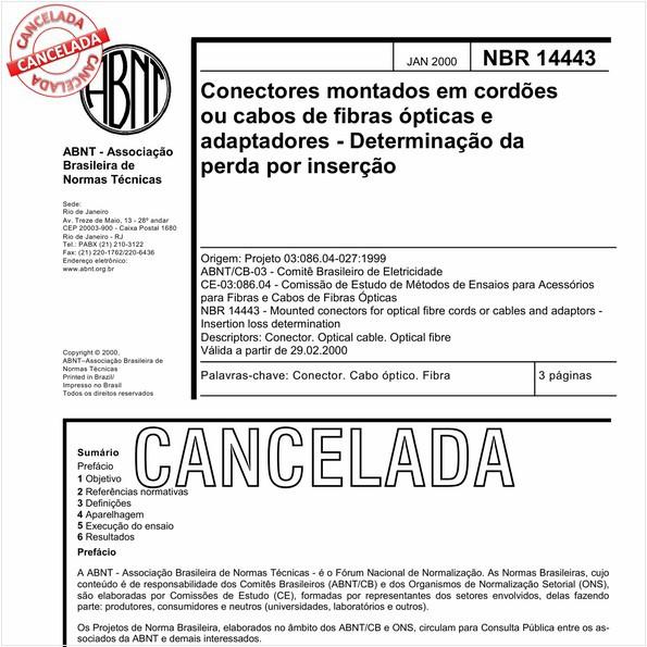 NBR14443 de 09/2010