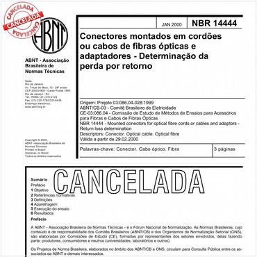 NBR14444 de 01/2000