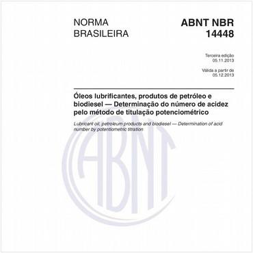 NBR14448 de 11/2013