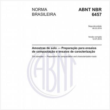 NBR6457 de 03/2016