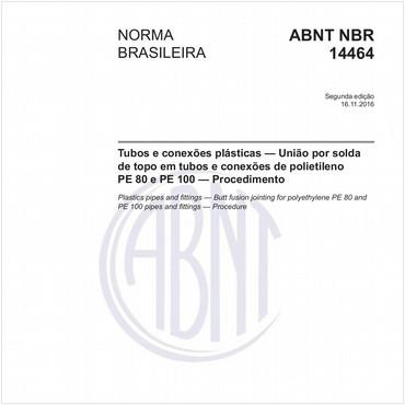 NBR14464 de 11/2016