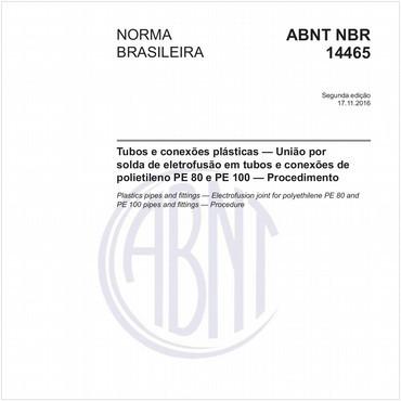 NBR14465 de 11/2016