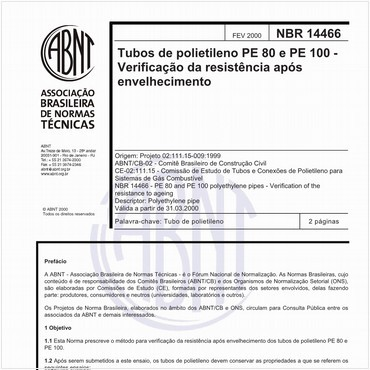 NBR14466 de 02/2000