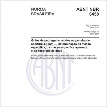 NBR6458 de 09/2016