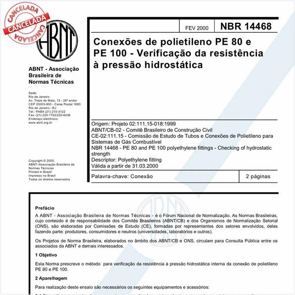 NBR14468 de 03/2017