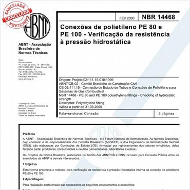 NBR14468 de 02/2000