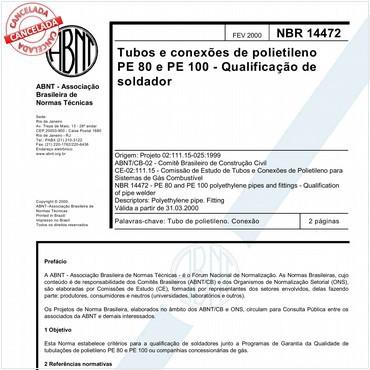 NBR14472 de 02/2000