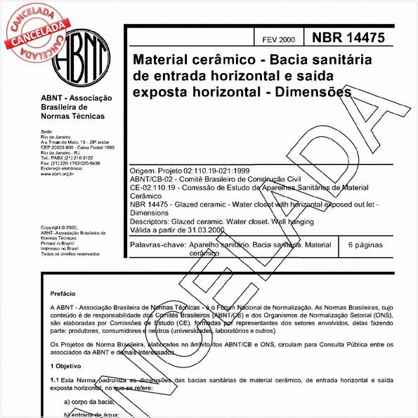 NBR14475 de 06/2004