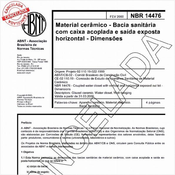 NBR14476 de 06/2004