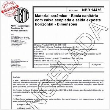 NBR14476 de 02/2000