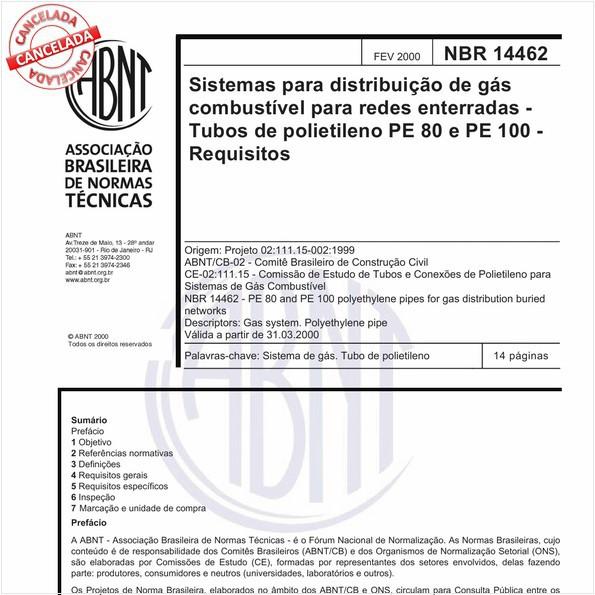 NBR14462 de 11/2016