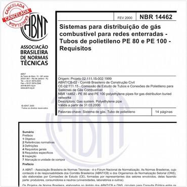 NBR14462 de 02/2000