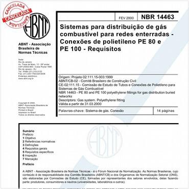 NBR14463 de 02/2000