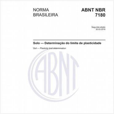 NBR7180 de 03/2016