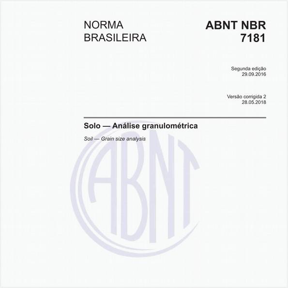 NBR7181 de 09/2016