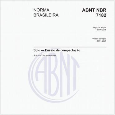 NBR7182 de 09/2016