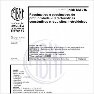 NBRNM216 de 02/2000