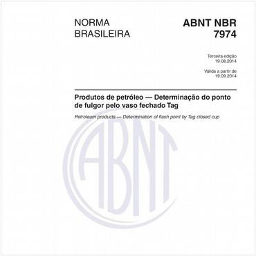 NBR7974 de 08/2014