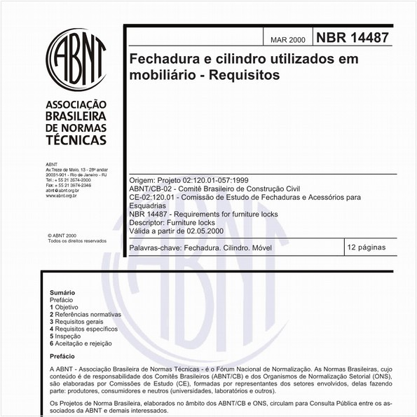 NBR14487 de 03/2000