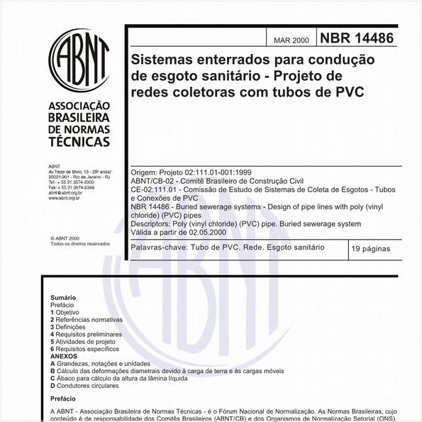 NBR14486 de 03/2000