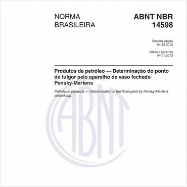 NBR14598 de 12/2012