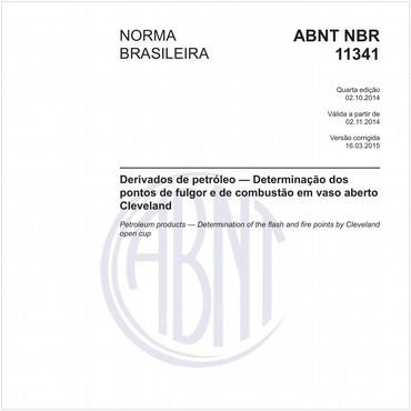 NBR11341 de 10/2014