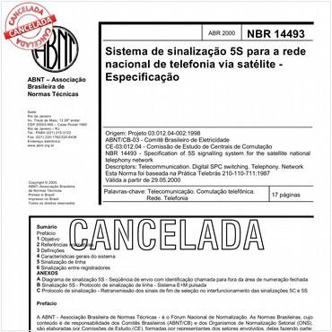 NBR14493 de 04/2000