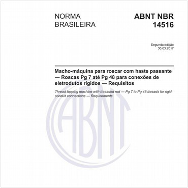 NBR14516 de 03/2017