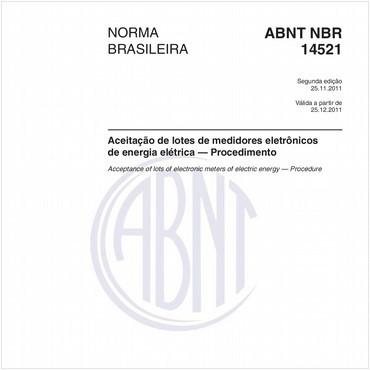 NBR14521 de 11/2011