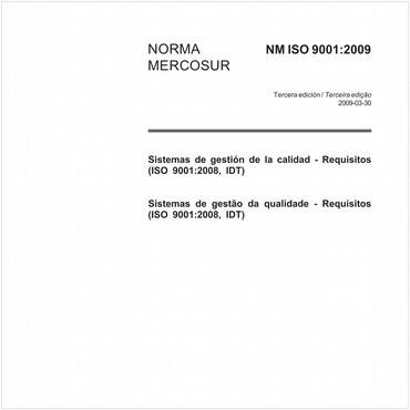 NM-ISO9001 de 03/2009