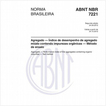 NBR7221 de 09/2012