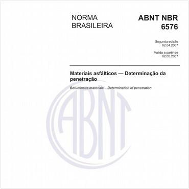 NBR6576 de 04/2007