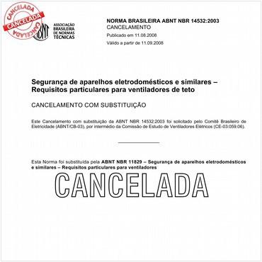 NBR14532 de 04/2003