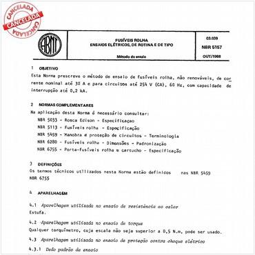 NBR5157 de 10/1988