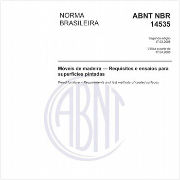 NBR14535 de 03/2008
