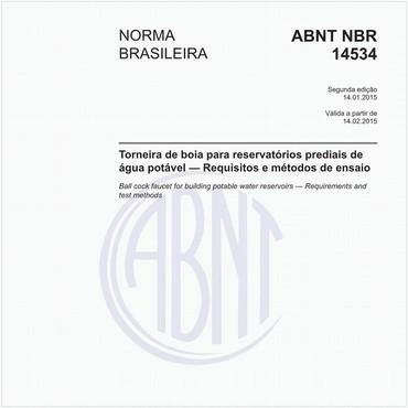 NBR14534 de 01/2015