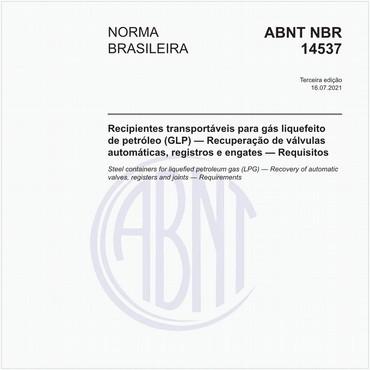 NBR14537 de 07/2021