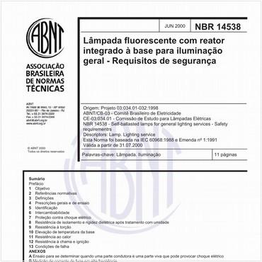 NBR14538 de 06/2000